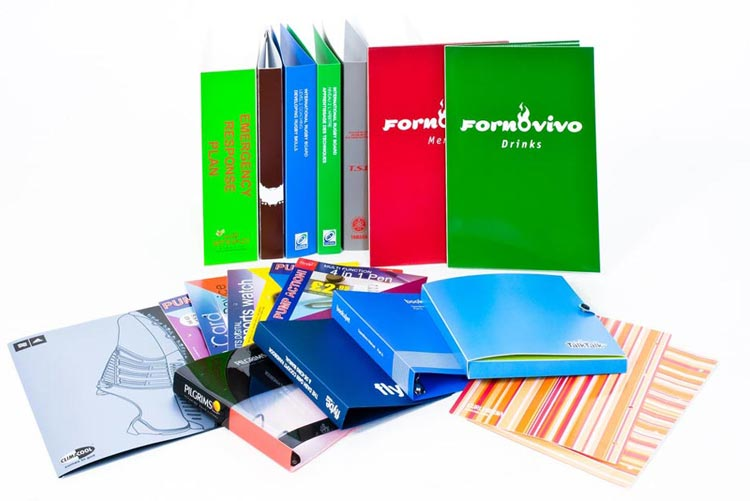 Ring Binders & Slipcases Manufactured in UK